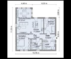 IHR KfW 40 Scanhaus inkl. 1.180 m² Grundstück