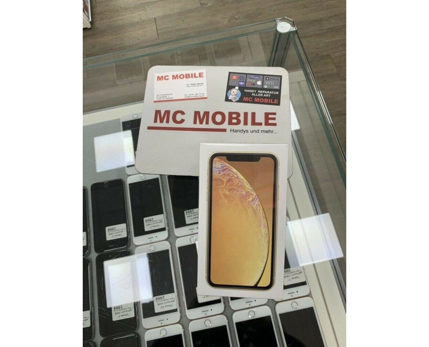 Apple iPhone Xr - Yellow - 64GB - Neu & Ovp - 1/4