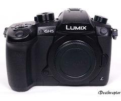 Panasonic Lumix DC-GH5EG-K Body 20 MP Kamera GH5 Händler Wie