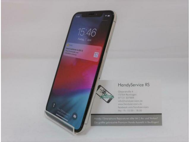 Apple iPhone X 256Gb Silber #361 HandyService RS - 1/3