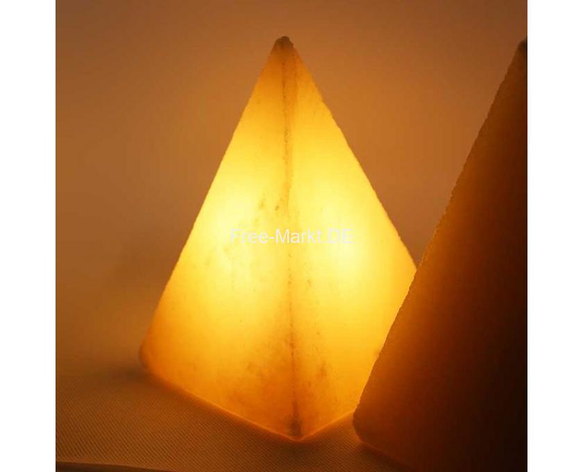 Salz Kerzenhalter, Teelichthalter aus Himalaya-Salz - 7/8