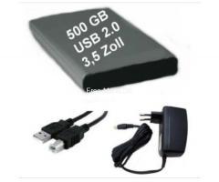 Externe Festplatte Samsung ° 500 GB ° USB 2.0 ° 3.5 Zoll