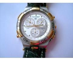 Schweizer COLUMBUS Chronograph Tachymeter 50 m Herren Luxus