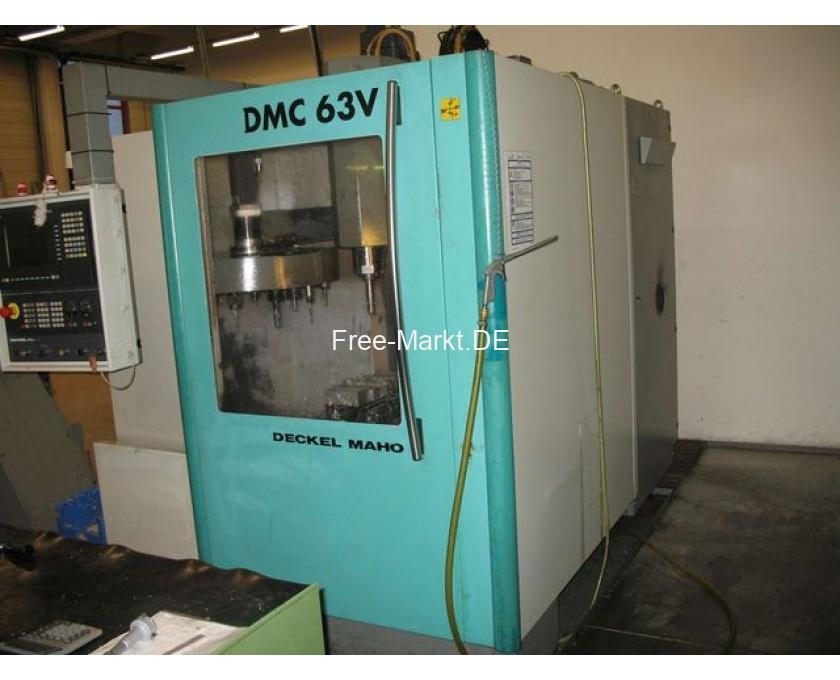 CNC-Fräse DMC 63V - 1/4