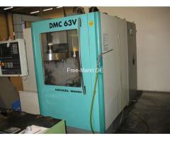 CNC-Fräse DMC 63V
