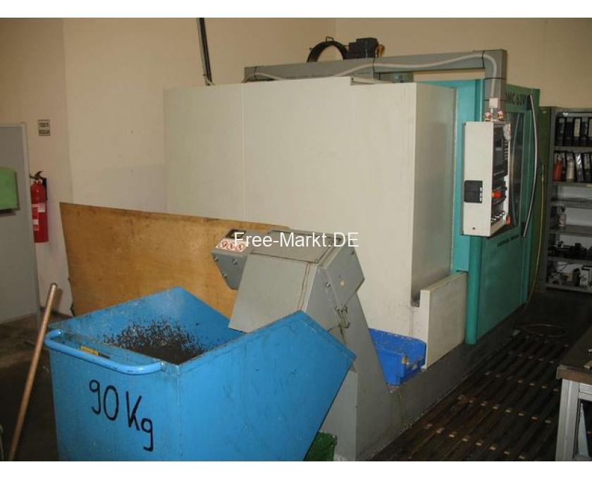 CNC-Fräse DMC 63V - 2/4