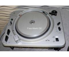 EMT 930 Professional Studio Turntable (2) f. TUBE Amp. Glasp