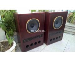 "2 x Tannoy SRM Super Red Monitor 15"" Lautsprecher"
