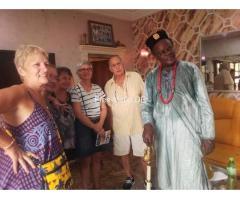 Der Marabout Gaba ist ein großartiger afrikanischer