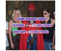 Marabout Gaba ist ein 28-jähriger afrikanischer Voodoo