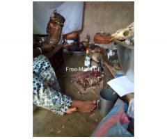 Marabout Gaba ist ein 28-jähriger afrikanischer