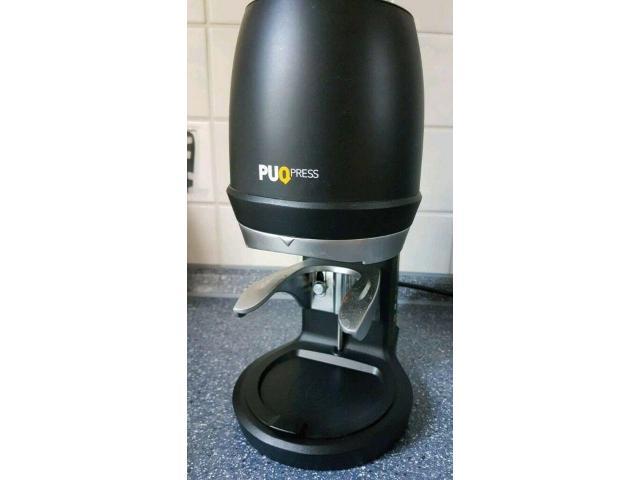 Puqpress Q2 schwarz Tamper Espresso Kaffee - 1/3