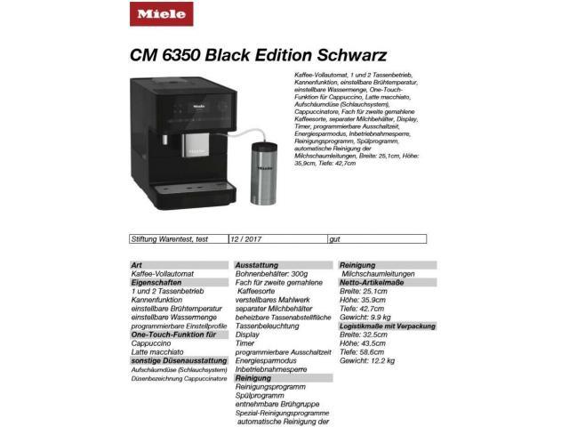 Miele CM6350 schwarz Kaffeemaschine Neu - 2/2