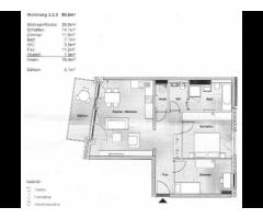 Geschmackvoll eingerichtete 3-Zimmer-Wohnung im Bezirk Alton