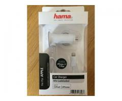 HAMA Car Charger Apple iPhone iPad iPod Lightning