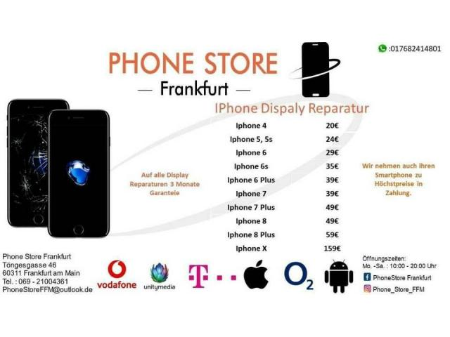 Apple IPhone Display Reparatur ab 20 € - 1/1