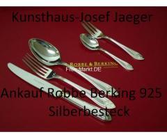 Ankauf Robbe Berking 925 Silber Silberbesteck Deutschland