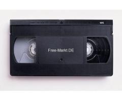 Digitalisierung alter Videokassetten und Camcorderkassetten