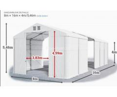 Lagerzelt 8x16 Zelthalle Weidezelt Zeltgarage Garagenzelt