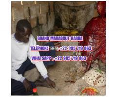 Marabout Gaba ist ein Jahre alter afrikanischer