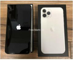 Apple iPhone 11 Pro 64GB = $500, iPhone 11 Pro Max 64GB $550