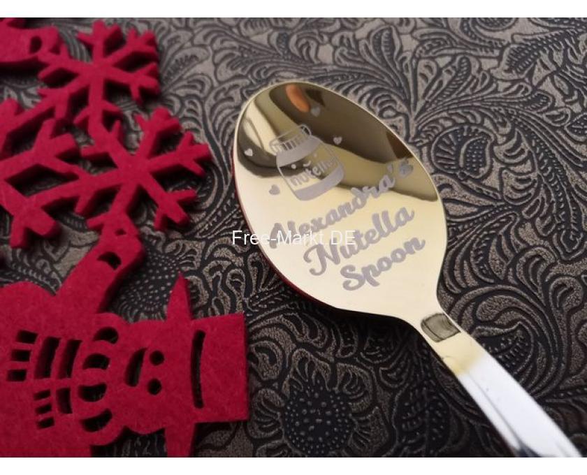 Originelles Geschenk, Geburtstagsgeschenk, Nutella Löffel - 4/8