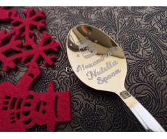 Originelles Geschenk, Geburtstagsgeschenk, Nutella Löffel - Bild 4/8