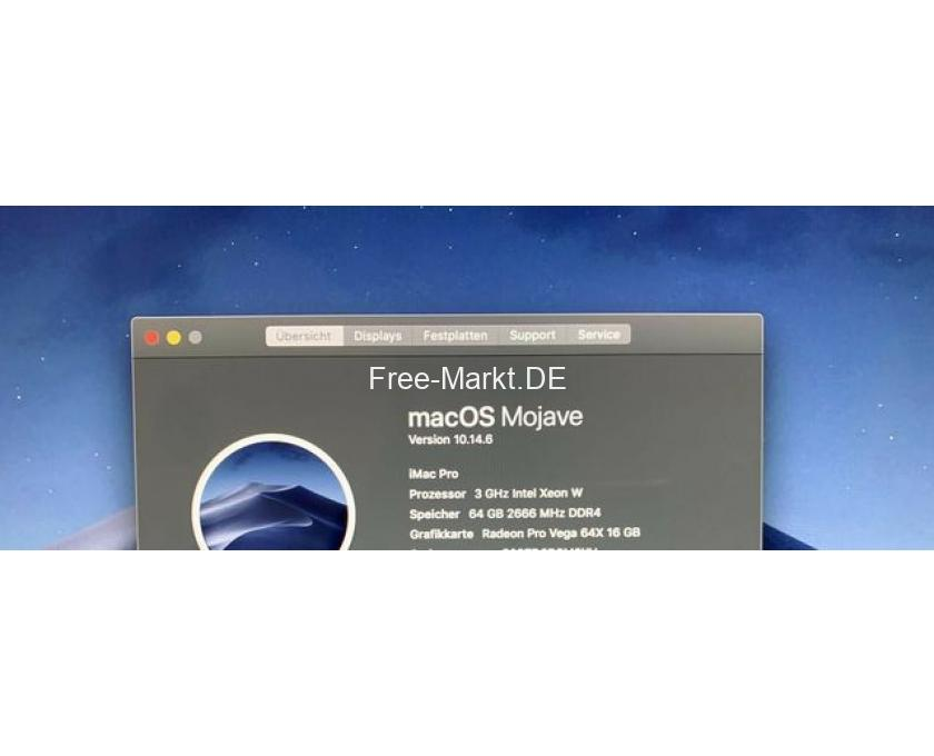 "Apple iMac Mac PRO 27"" Spacegrey 3GHz 64GB RAM - 5/5"