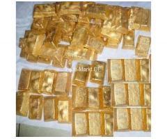 Alluvial Goldbarren, Verkauf von Goldbarren