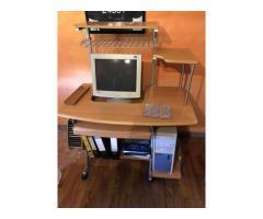 Computer Tisch Schreibtisch auf Rollen