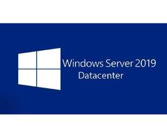 Windows Server 2019 Datacenter 100 User / PC VOL MAk Count K