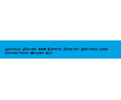 Windows Server 2019 Remote Desktop Services user connections