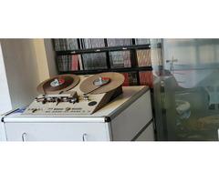 AEG Telefunken M21 Tonbandgerät / Tape Recorder, Top