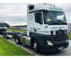 Kraftfahrer CE Containerfernverkehr gesucht