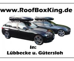 Dachbox mieten / Dachträger Verleih / Grundträger / Fahrradt