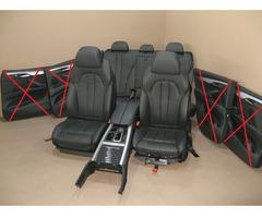 BMW F15 X5 Lederausstattung Komfortsitze Leder DAKOTA
