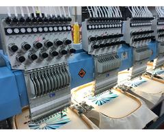 ZSK SHOW ROOM Stickmaschine