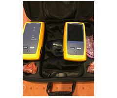 Fluke DSX-5000 Netzwerktester In Koffer Und Zubehör