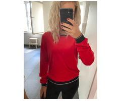 Pullover Samt Rot von Only Gr:XS