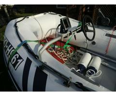 Schlauchboot Suzumar 390 Alu, Yamaha F25 GES 25 PS - Bild 3/4