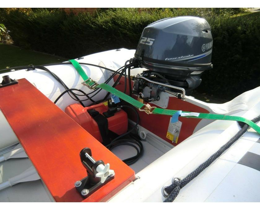 Schlauchboot Suzumar 390 Alu, Yamaha F25 GES 25 PS - 4/4