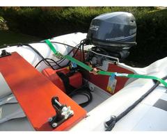 Schlauchboot Suzumar 390 Alu, Yamaha F25 GES 25 PS - Bild 4/4