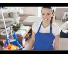 Reinigungsservice / Putzfrau mit Rechnung