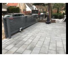 Zaun Doppelstabmatten Schmiedezaun Gelände Edelstahl Zäune