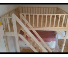 Wir bauen Ihr Hochbett / Bett / Podest / Hochebene