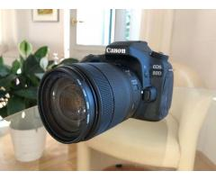 Verkaufe Canon EOS 80D mit Objektiv