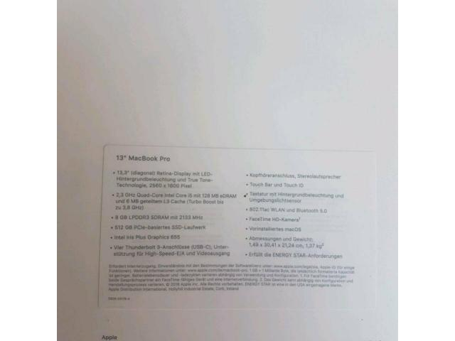 Verkaufe Apple Macbook pro 13 - 2/6