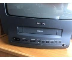 Fernseher mit VHS Rekorder zu verkaufen