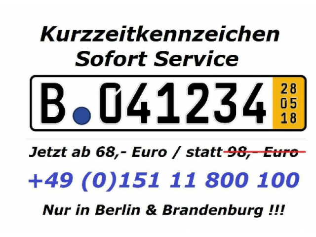 Zulassungsdienst Berlin 24h Zulassungsservice | Zulass - 1/2