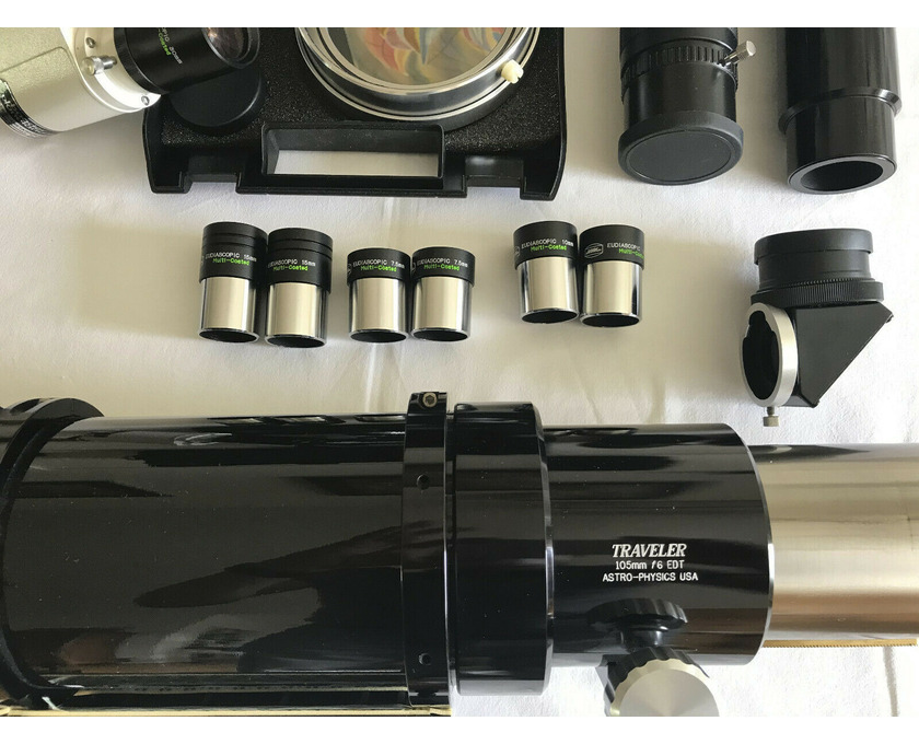 Astro-Physics 105mm Traveler f6 EDT Triplett Apo - 4/5